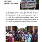Inaugurazione della Scuola dei Mestieri - Locandina